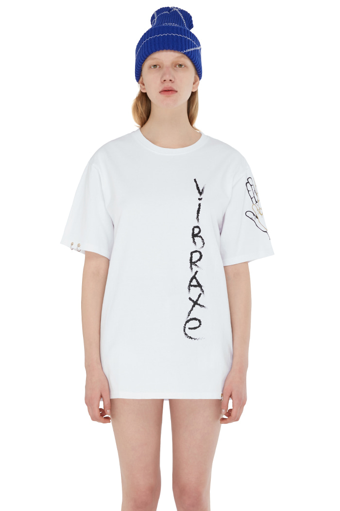 GRAFFITI T-SHIRT (WHITE)