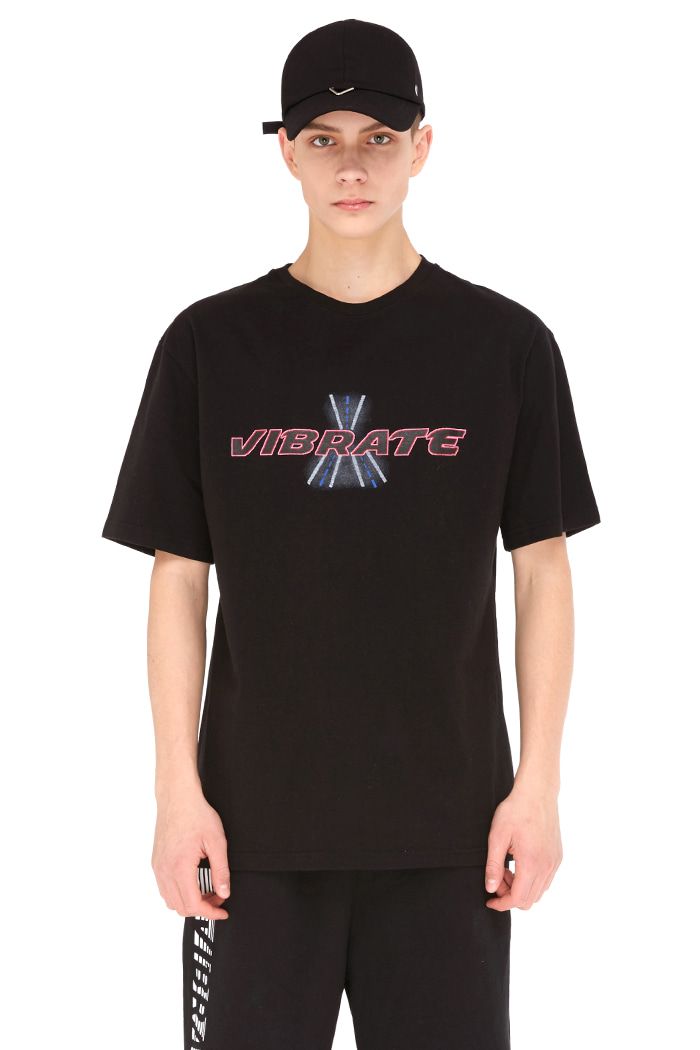 SPACE ROADVIEW T-SHIRT (BLACK)