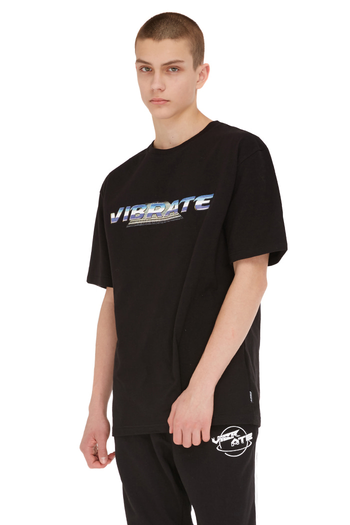 SPACE TRIP LOGO T-SHIRT (BLACK)