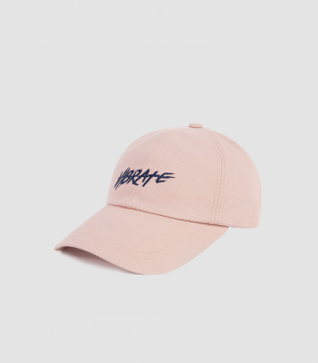 VIBRATE - BRUSH LETTERING BALL CAP (pink)