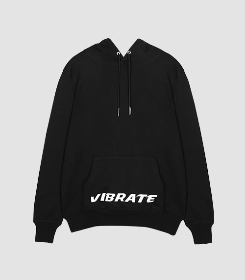 VIBRATE - UNIQUE BASED HOODIE (BLACK)