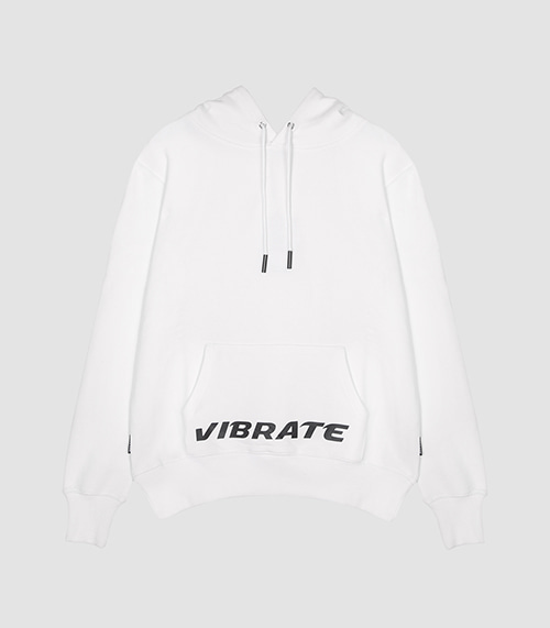 VIBRATE - UNIQUE BASED HOODIE (WHITE)