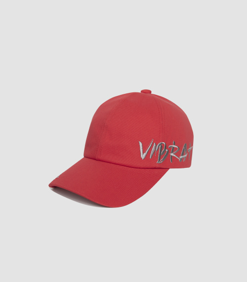 VIBRATEKIDS - BY THE SIDE BALL CAP (RED)