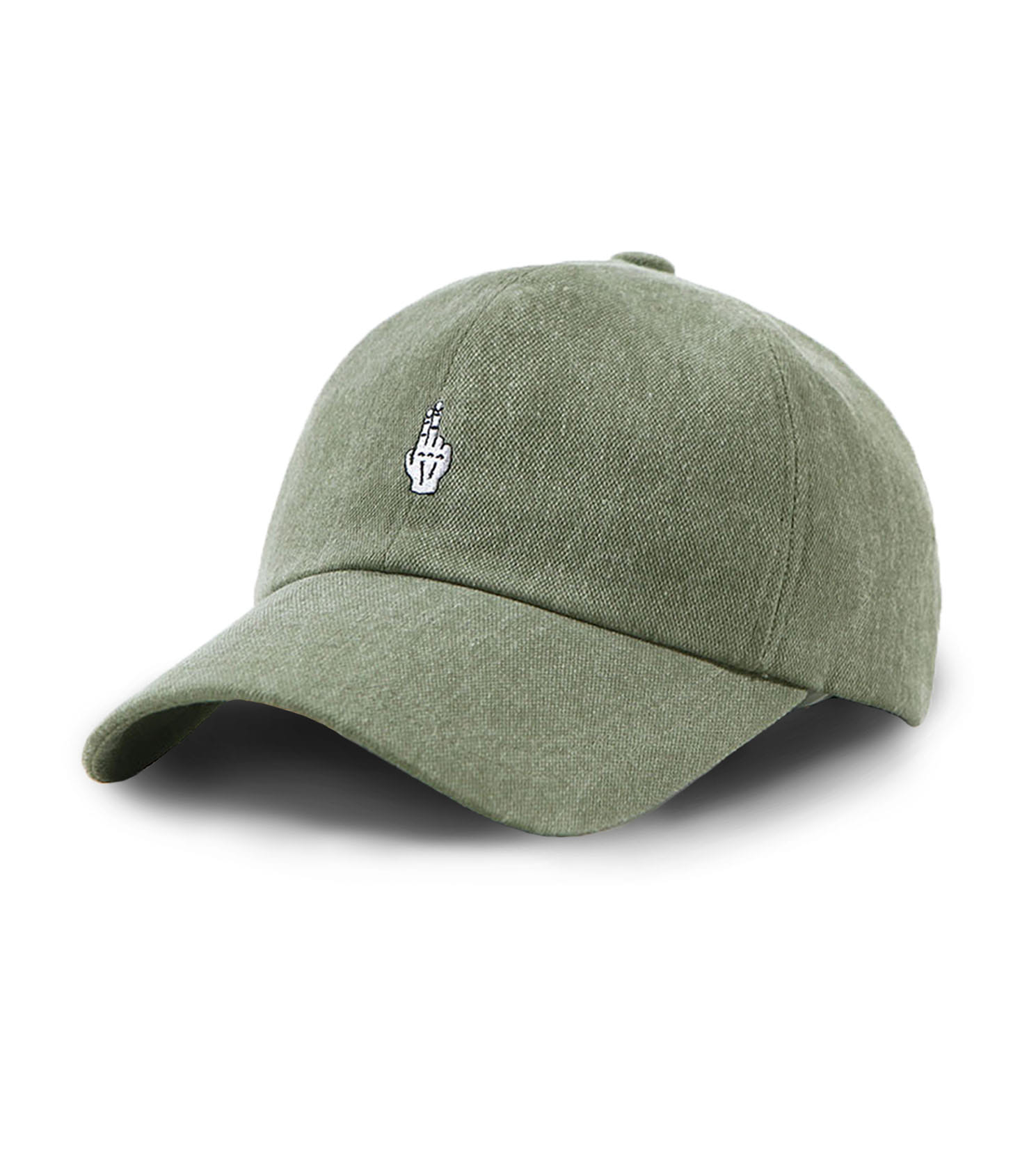 VIBRATE - FINGER BALL CAP (WASHING KHAKI)