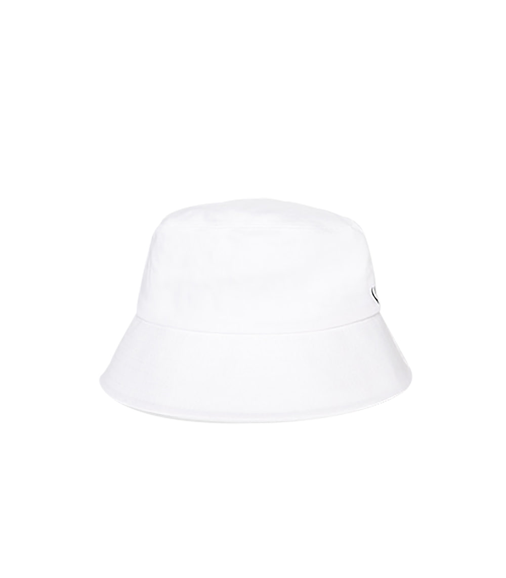 STRING POINT BUCKET HAT (WHITE)