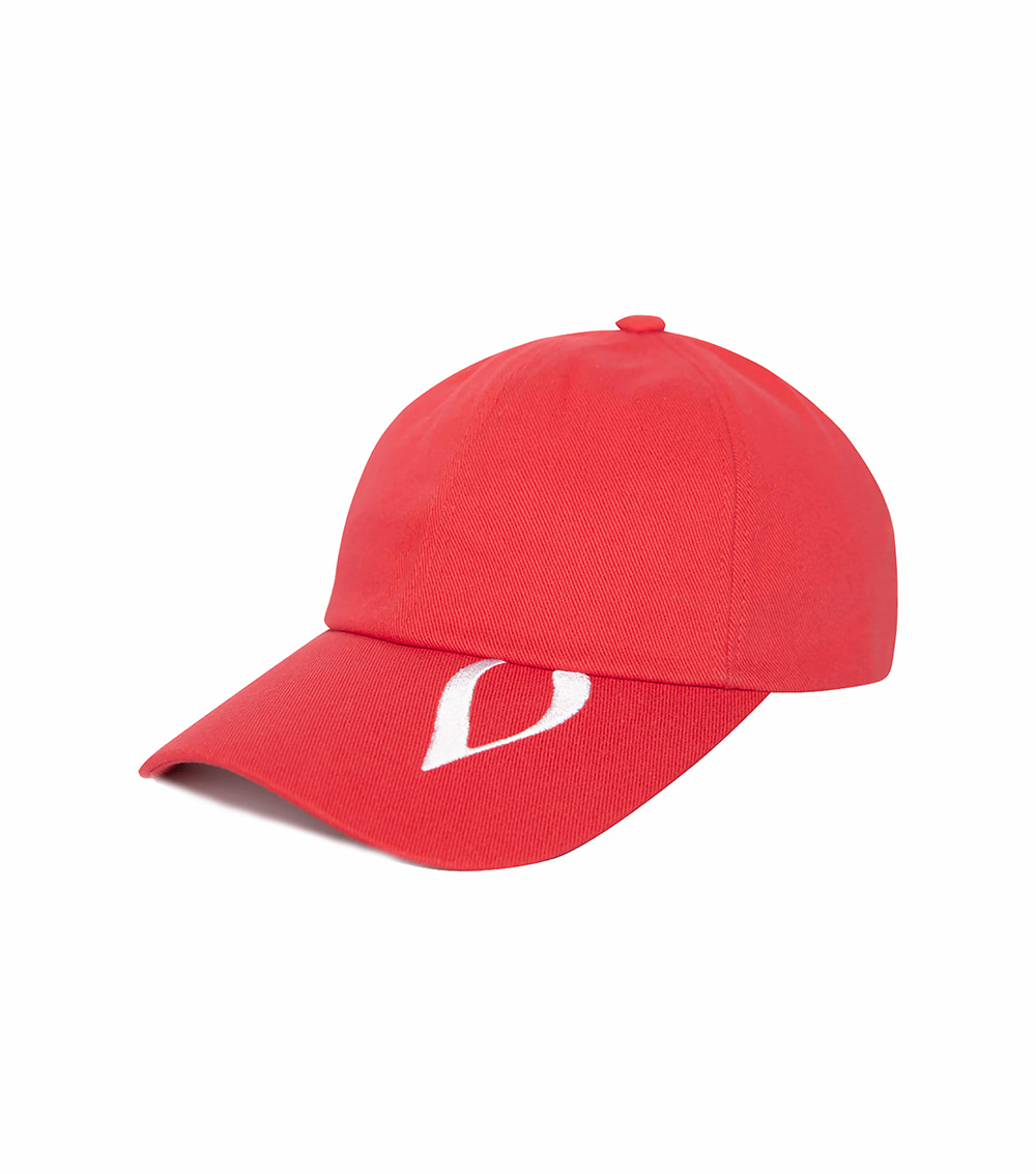 V GREAT BALL CAP (RED)