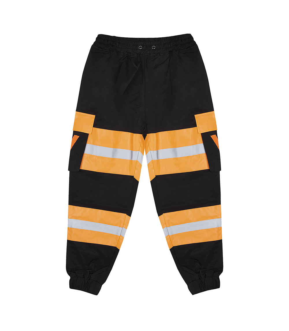 SYMBOL LOGO POCKET PANTS (BLACK)
