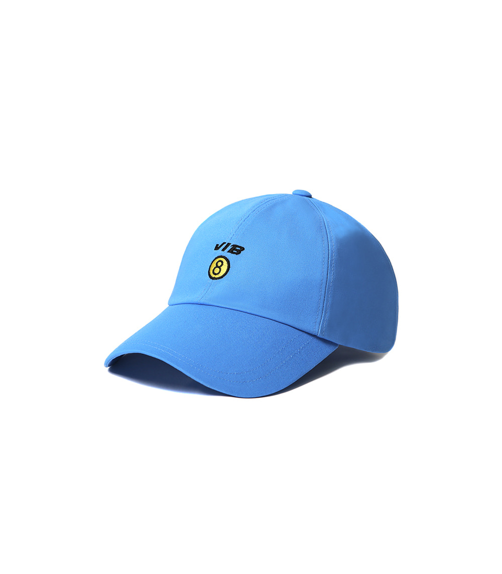 VIBRATE - NO.8 BALL CAP (blue)
