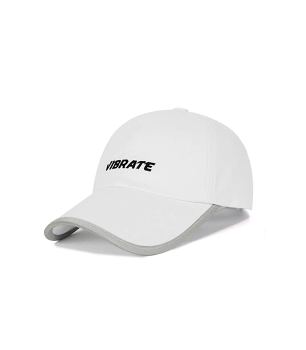 VIBRATE - SCOTCH PATCH BASIC LOGO BALL CAP (WHITE)