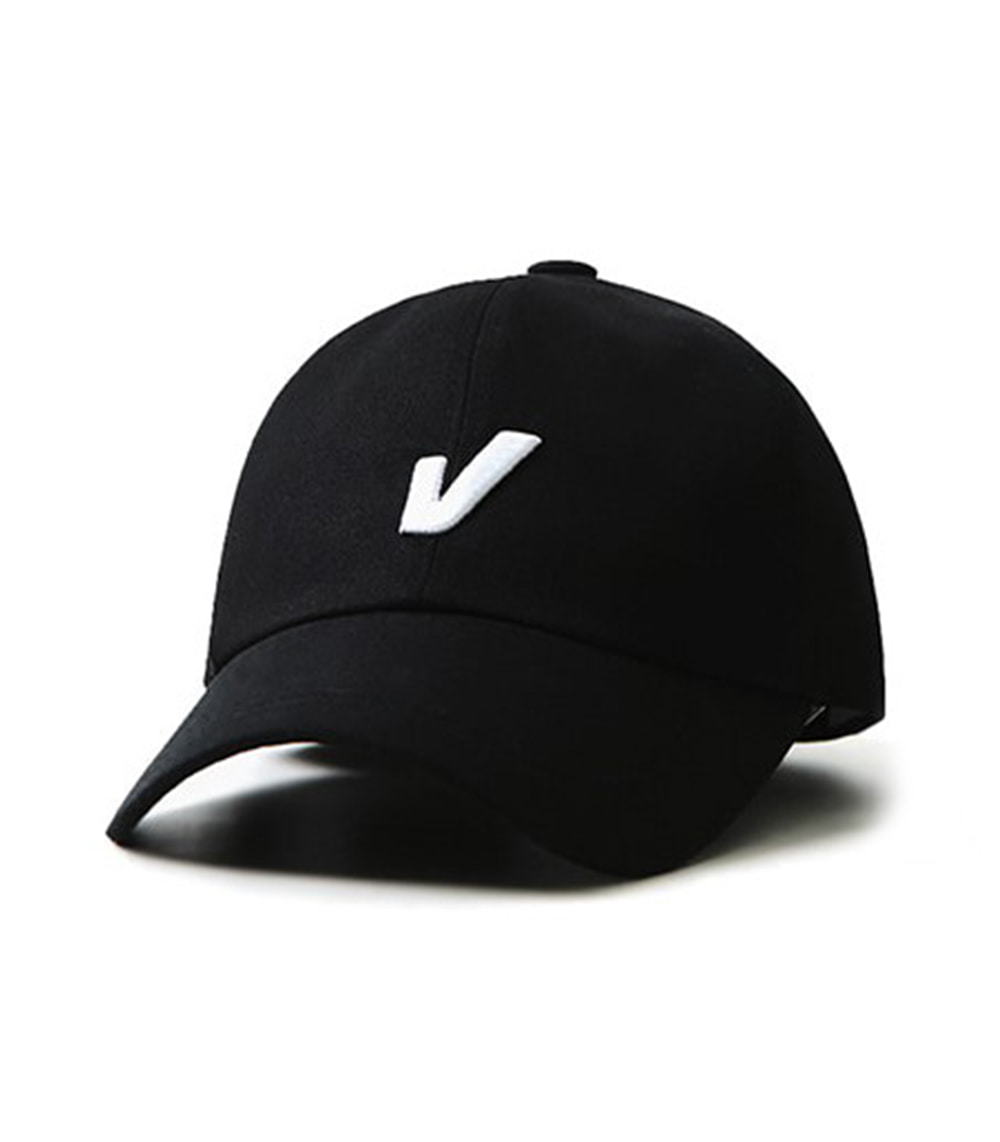 VIBRATE - HUGE V ON TOP BALL CAP (black)