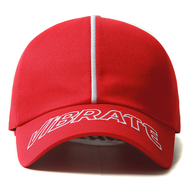 VIBRATE - PREMIUM LINE BALL CAP (red)