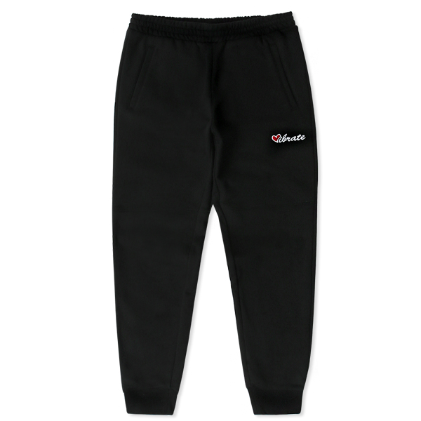 VIBRATE - LOVE JOGGER PANTS (black)