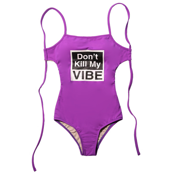VIBRATE - D.K.M.V SWIM SUIT (woman) (PURPLE)