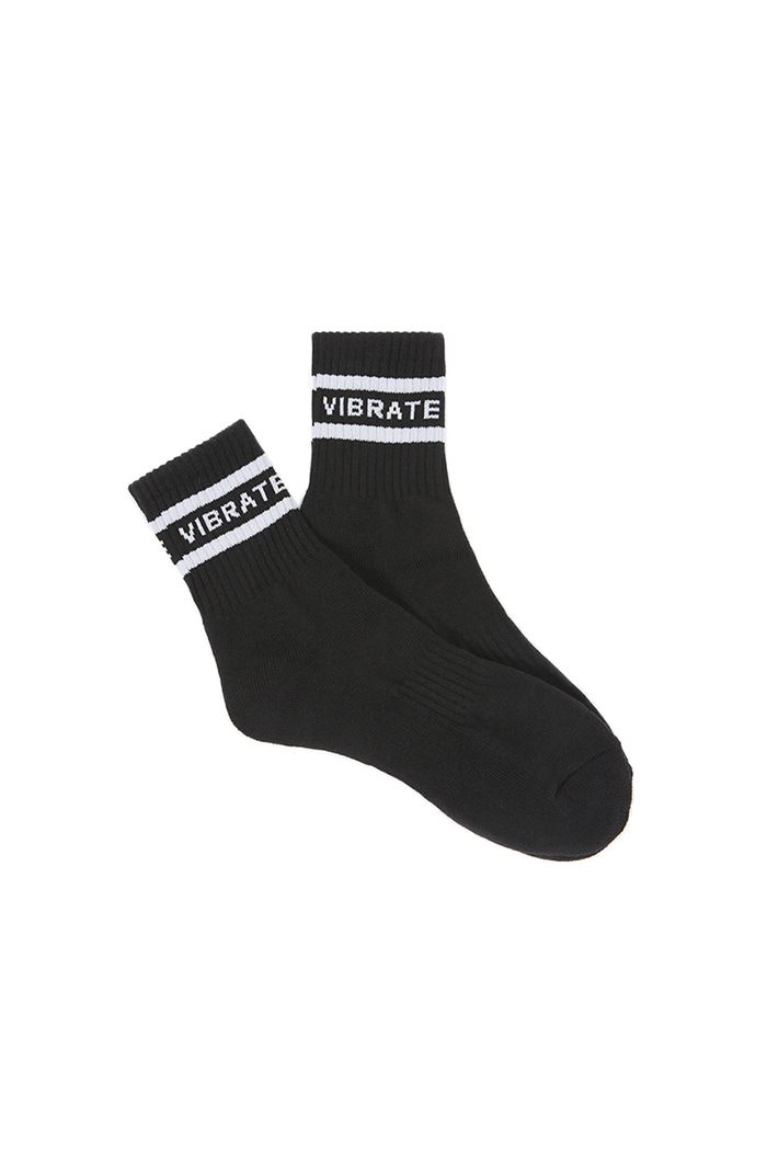 FULL NAME SOCKS (BLACK)