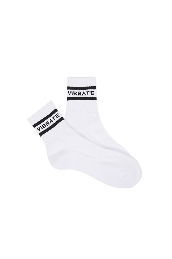 FULL NAME SOCKS (WHITE)