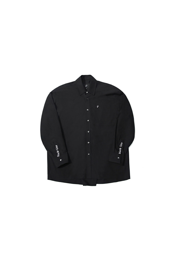 EMBROIDERY SHIRT (BLACK)