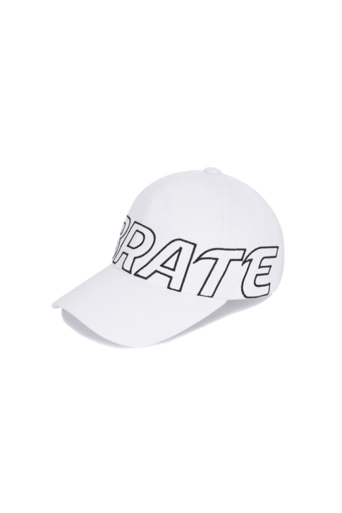 BASIC BIG LOGO BALL CAP (WHITE)