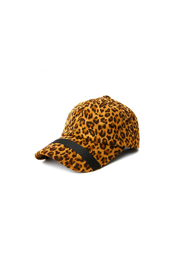 LOOP LEOPARD BALL CAP