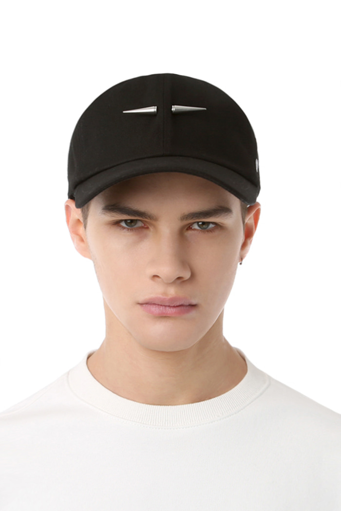 TRIANGULAR PIERCING POINT BALL CAP (BLACK)