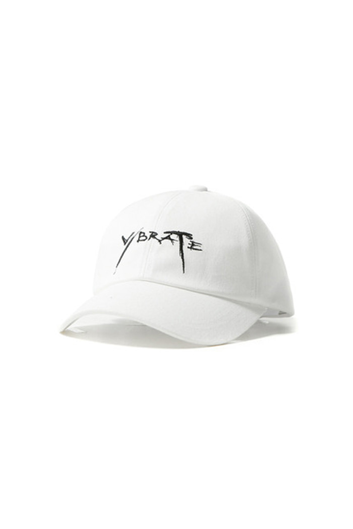 CALLIGRAPHY BALL CAP (WHITE)