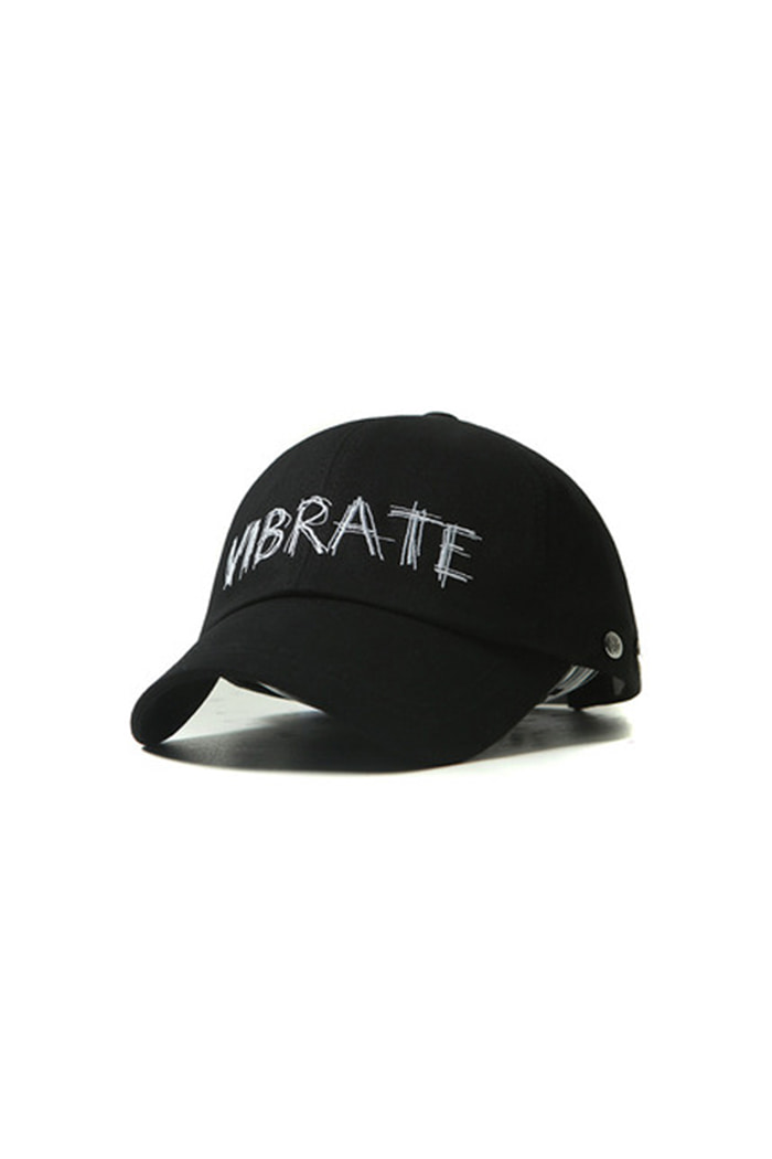TONE ON TONE BALL CAP (BLACK)