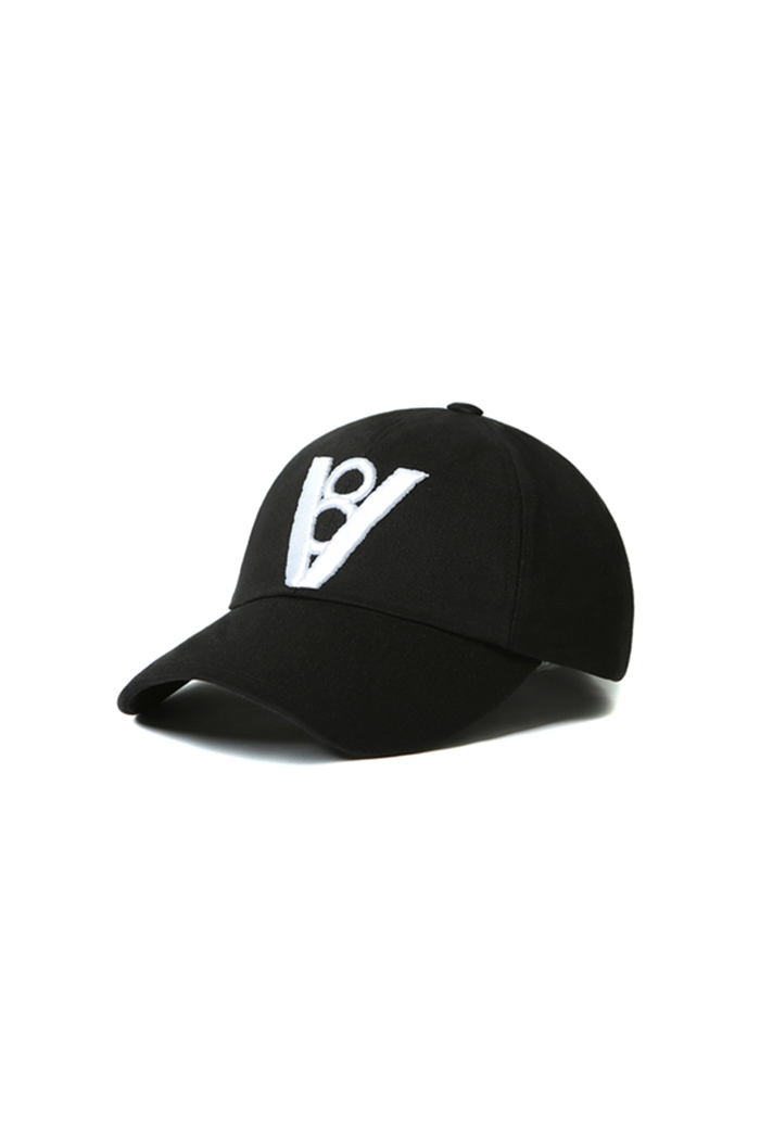 BOLD POINT BALL CAP (BLACK)