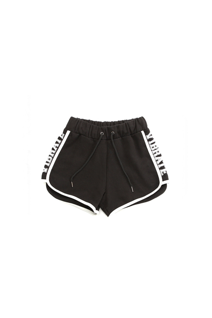 BASIC DOLPHIN SHORT PANTS (BLACK)