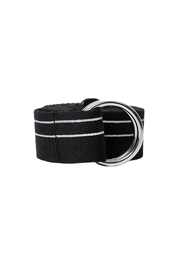 CRACK STRIPE BELT (BLACK)