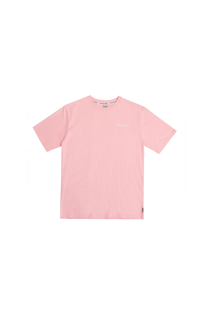 HAND DISC BACK LOGO T-SHIRT (PINK)