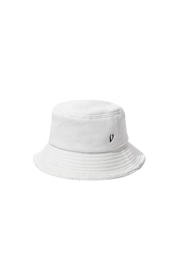 HEAVY COTTON BUCKET HAT (WHITE)