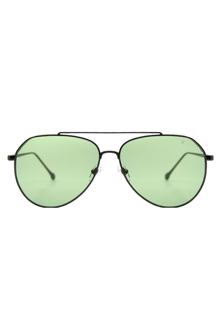 AVIATOR SUNGLASSES (GREEN)