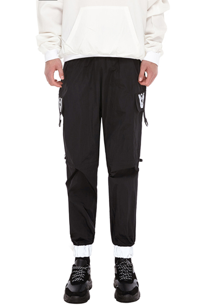 SCOTCH BANDING PANTS (BLACK)