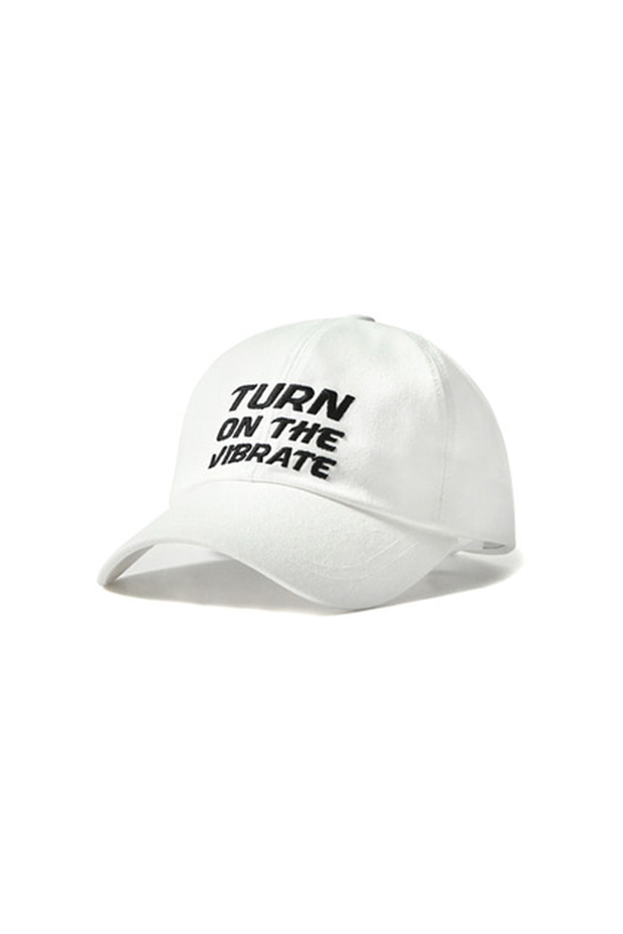 SQUARE BALL CAP (WHITE)