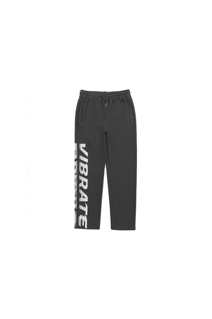 SIDE BIG LOGO TREK PANTS (BLACK)