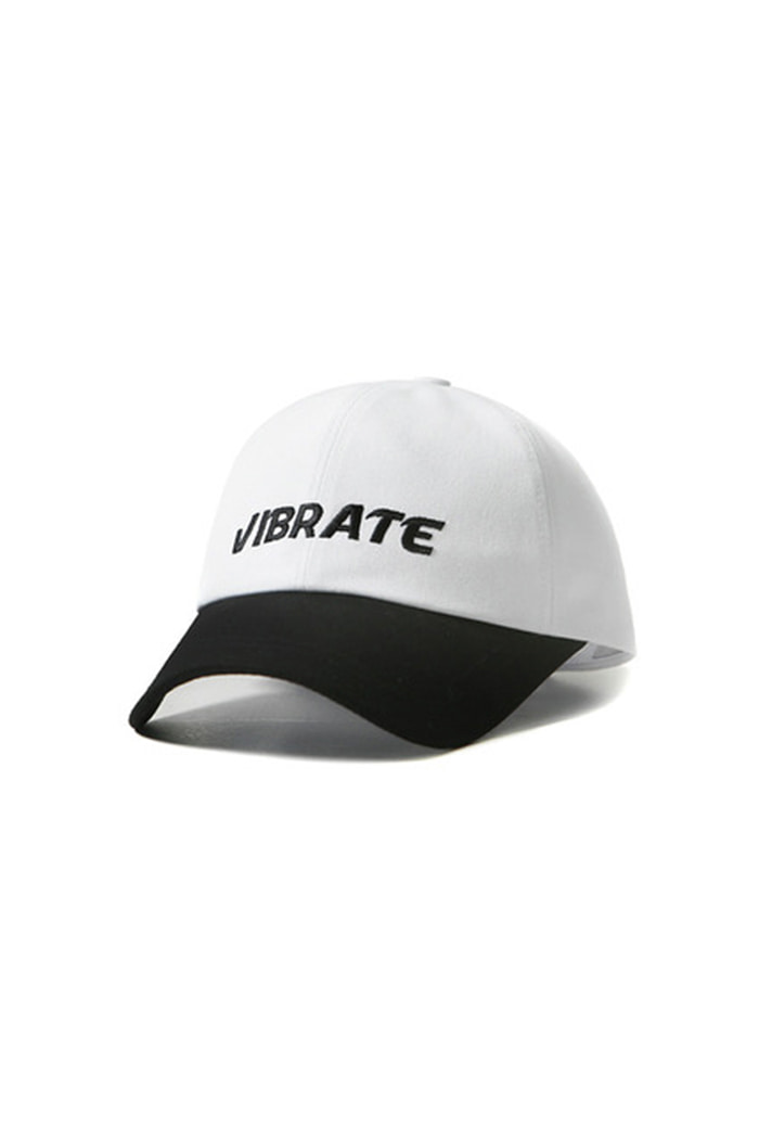 NAME TWO COLOR BALL CAP (WHITE)