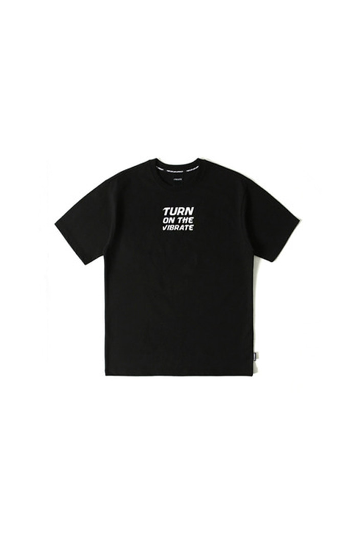 TURN ON THE T-SHIRT (BLACK)