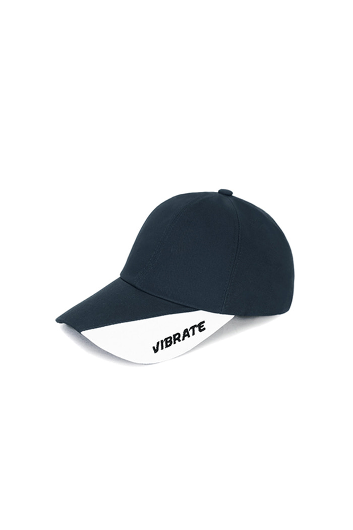 TWO TONE BALL CAP (NAVY&WHITE)