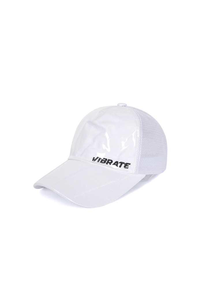 BASIC LOGO PVC BALL CAP (WHITE)