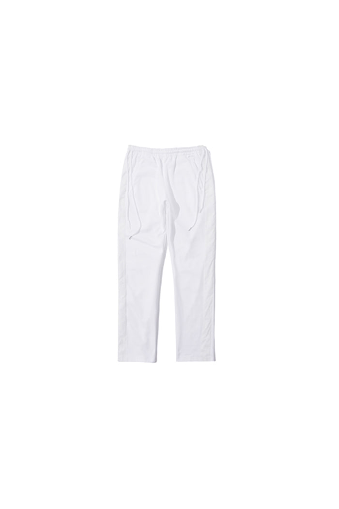SIDE LINE DOUBLE STRING PANTS (WHITE)