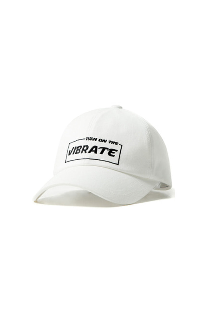 BOX OF TYPO BALL CAP (WHITE)