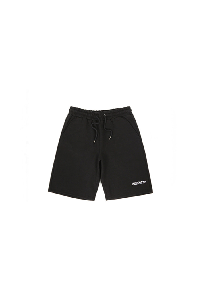BASIC LOGO SHORT PANTS (BLACK)