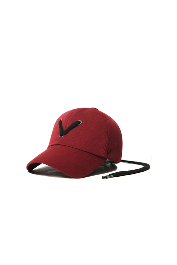 STRING POINT BALL CAP (RED)