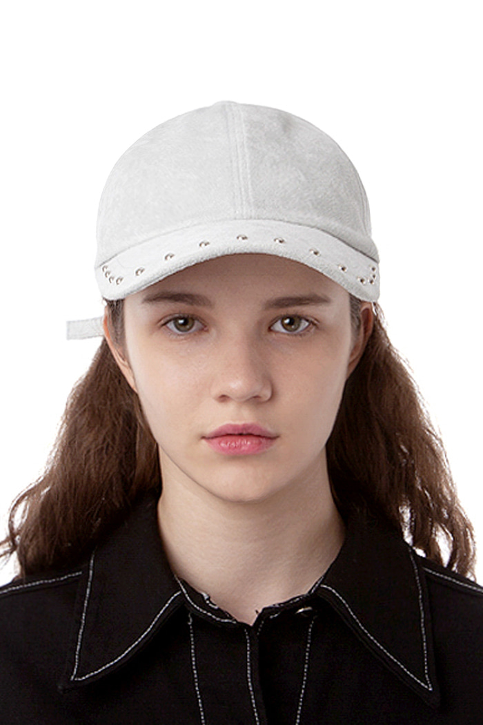 EYEDROP VISOR BALL CAP (GRAY)