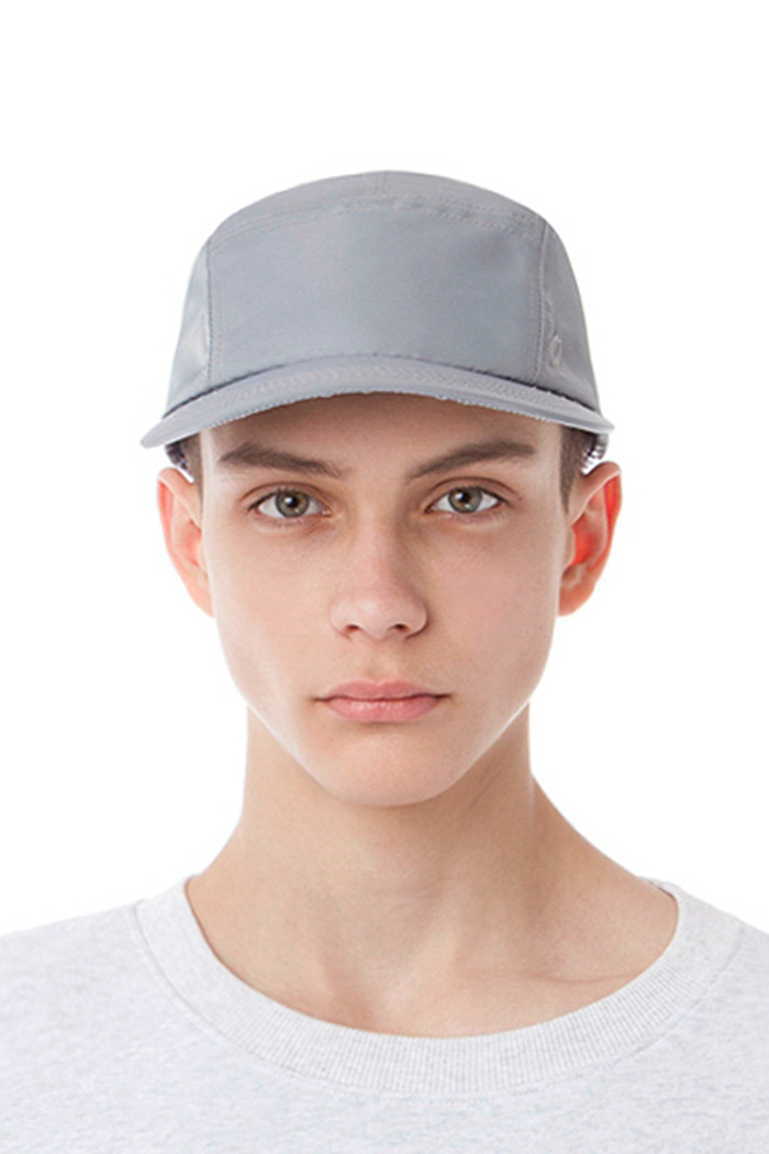 BOX ROUND CAMP CAP (SILVER)
