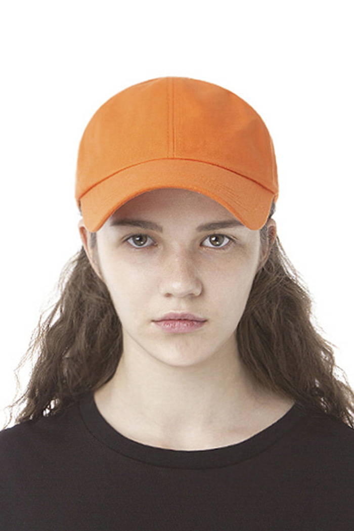 SYMBOL LOGO PATCH BALL CAP (ORANGE)