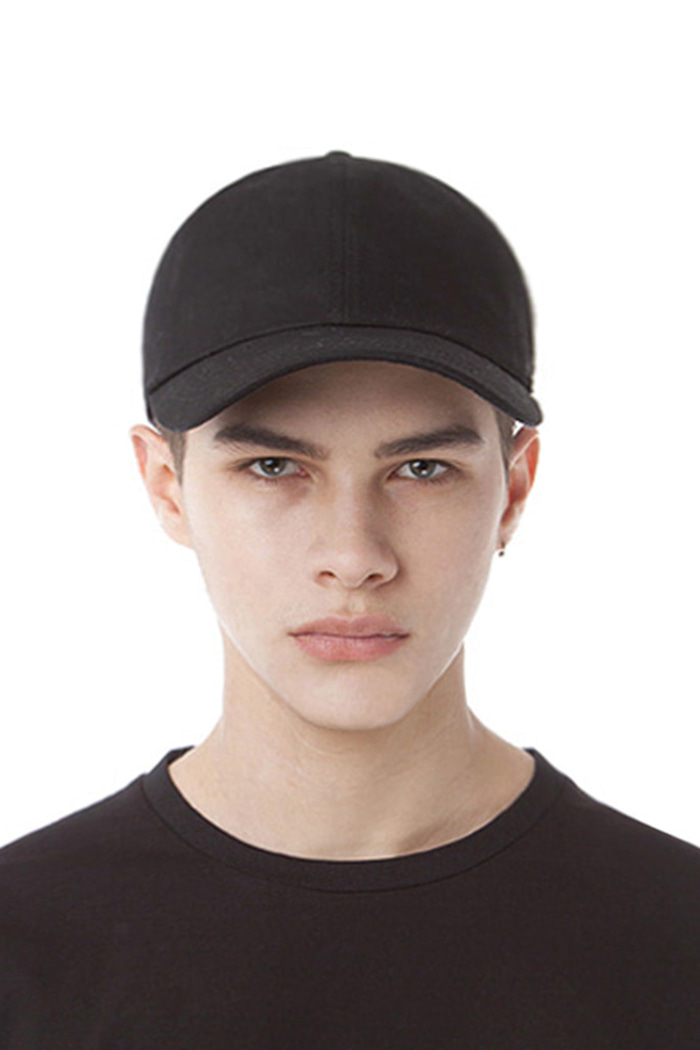 SYMBOL LOGO PATCH BALL CAP (BLACK)