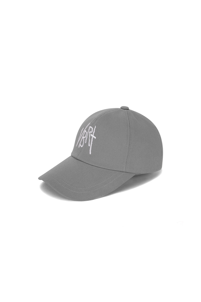 V.B.R.T LOGO BALL CAP (GRAY)