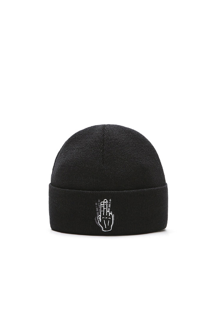VIBRATEKIDS - BASIC BEANIE NO.1 (BLACK)