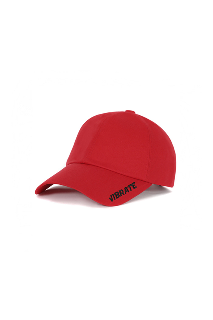 VIBRATEKIDS - SIDE LOGO BALL CAP (RED)