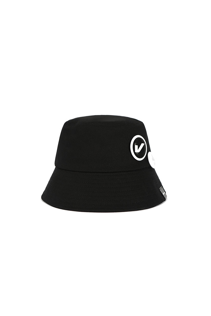 VIBRATEKIDS - CIRCLE BUCKET HAT (BLACK)